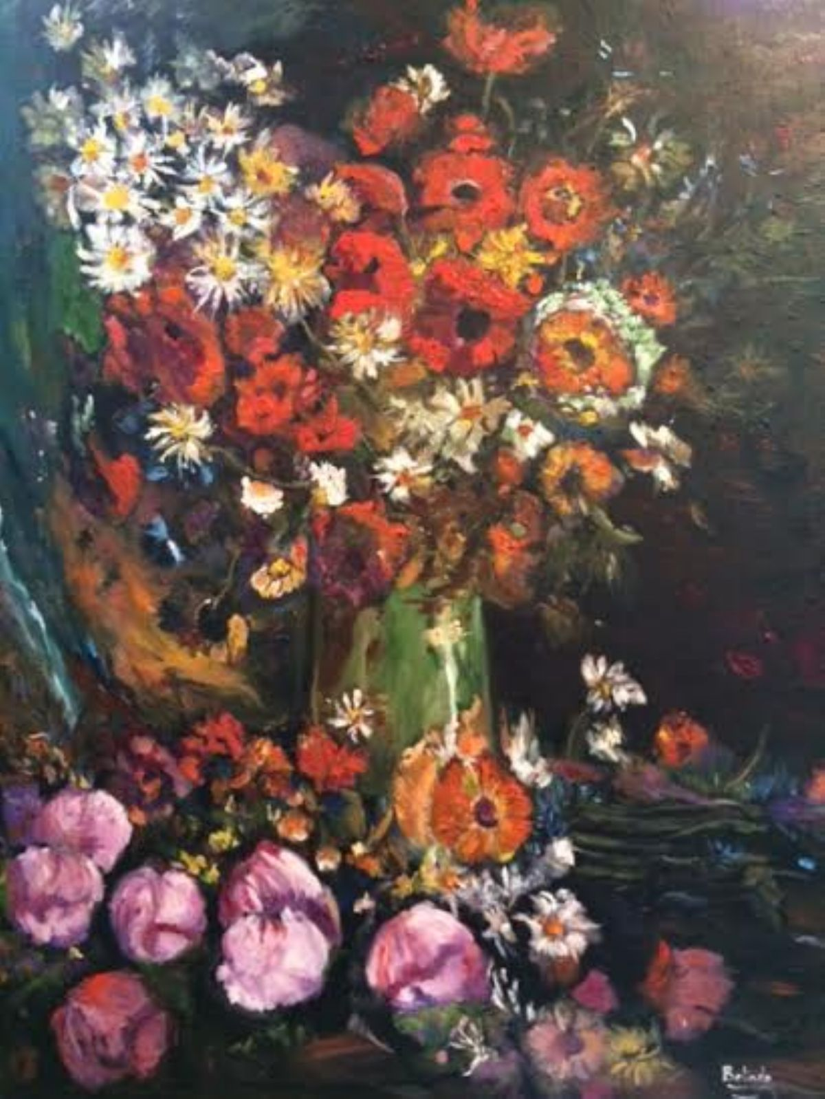 Life is Full of Colors artwork by Belinda Low - art listed for sale on Artplode