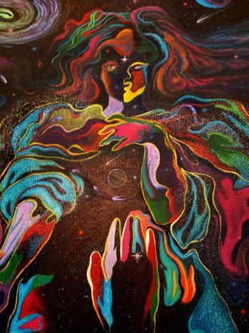 Mother Universe artwork by Alan Kent