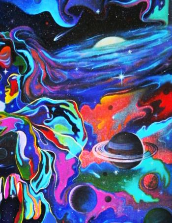 Mother Universe artwork by Alan Kent - art listed for sale on Artplode