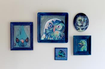 The Mischief Family, art for sale online by Alexa N Bonney H