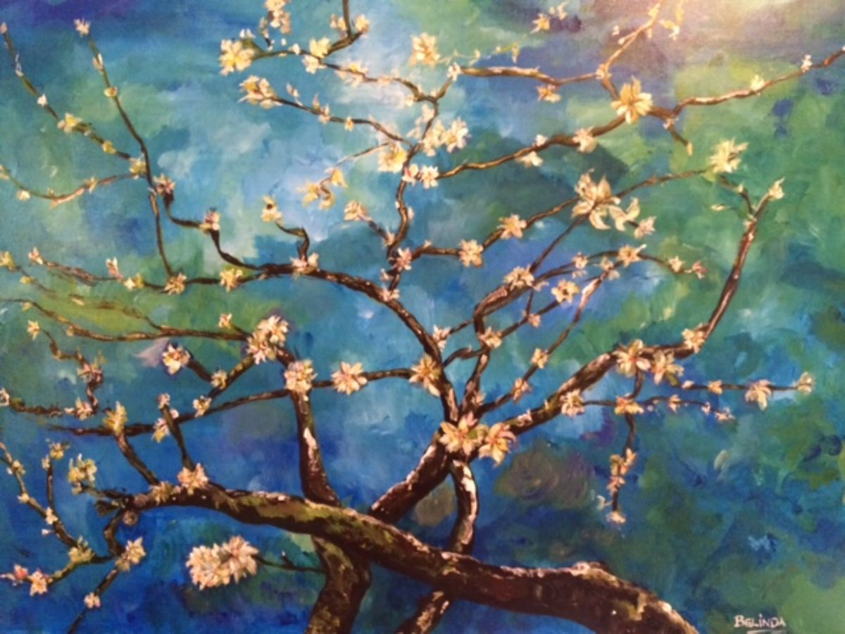 Spring in my Heart artwork by Belinda Low - art listed for sale on Artplode