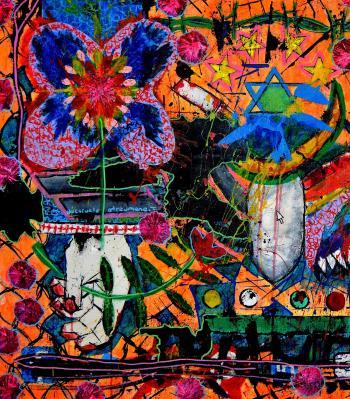 Todos Por Lapas Elements Of Pop Torture artwork by Franck de las Mercedes - art listed for sale on Artplode