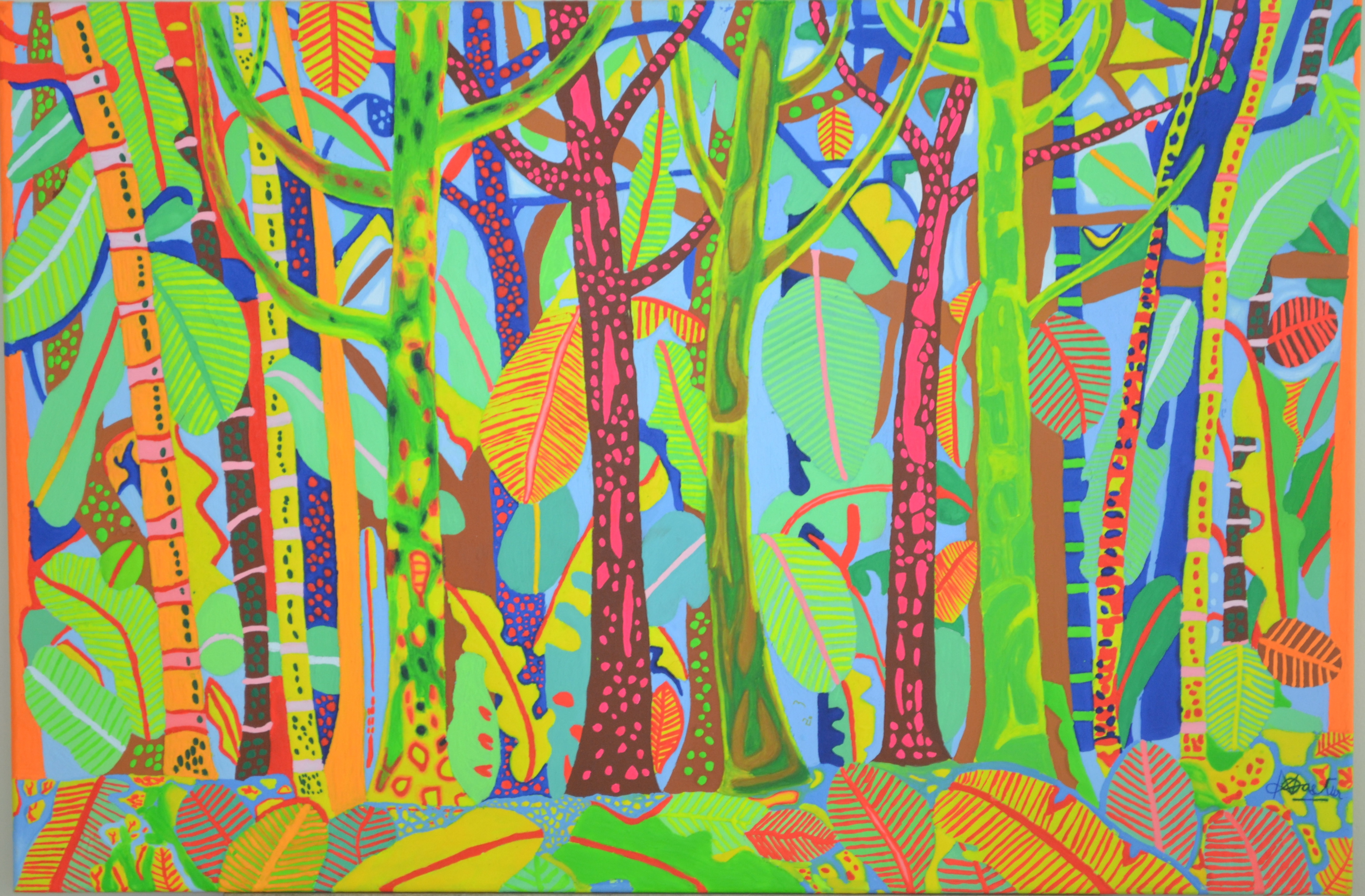 FAIRY FOREST artwork by Athelstan Dastur - art listed for sale on Artplode