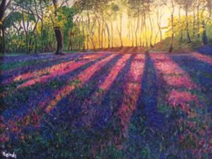 Through the Light, art for sale online by Belinda Low