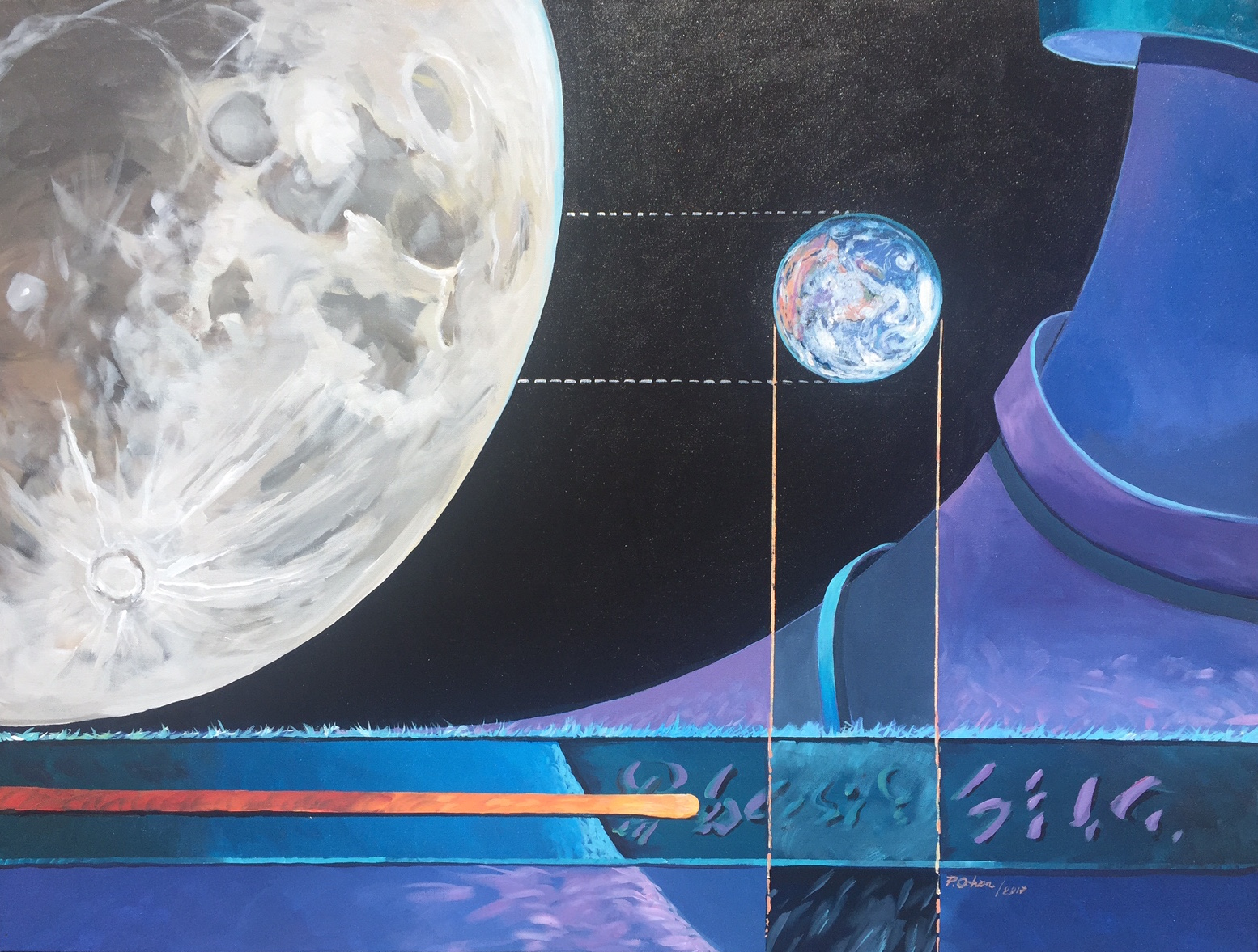 Vision Two artwork by Patricio Ochoa - art listed for sale on Artplode
