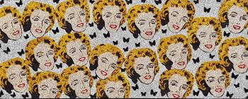 Marilyn , art for sale online by Leah Podolsky