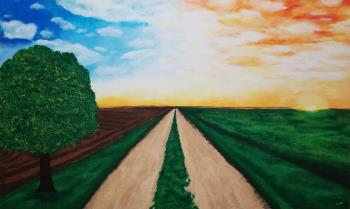 Open Road, art for sale online by Stacey Wellnitz