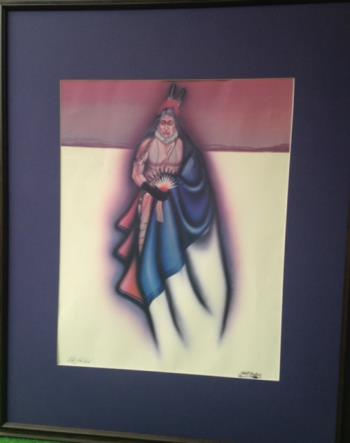 Healing Powers, art for sale online by Robert Redbird Sr