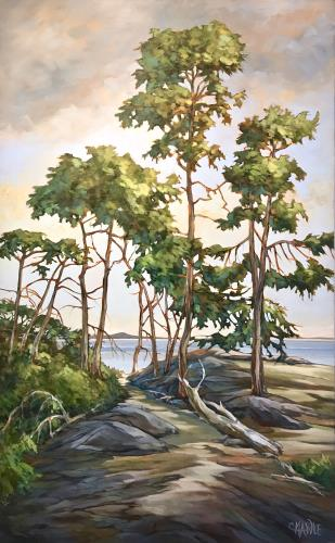 Coast Trail, art for sale online by Cindy Mawle