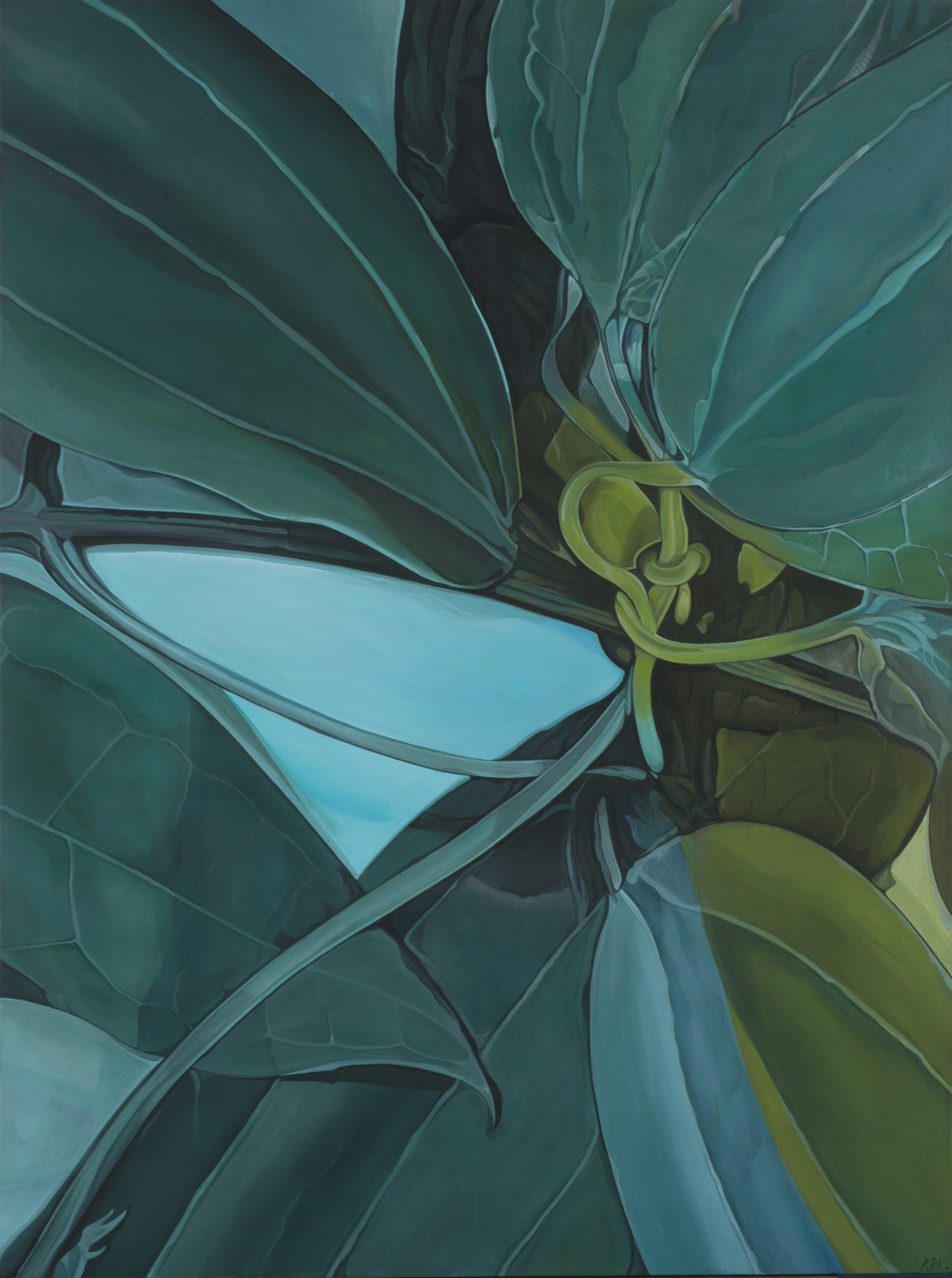 Serpentines Lament artwork by Andrew Killick - art listed for sale on Artplode