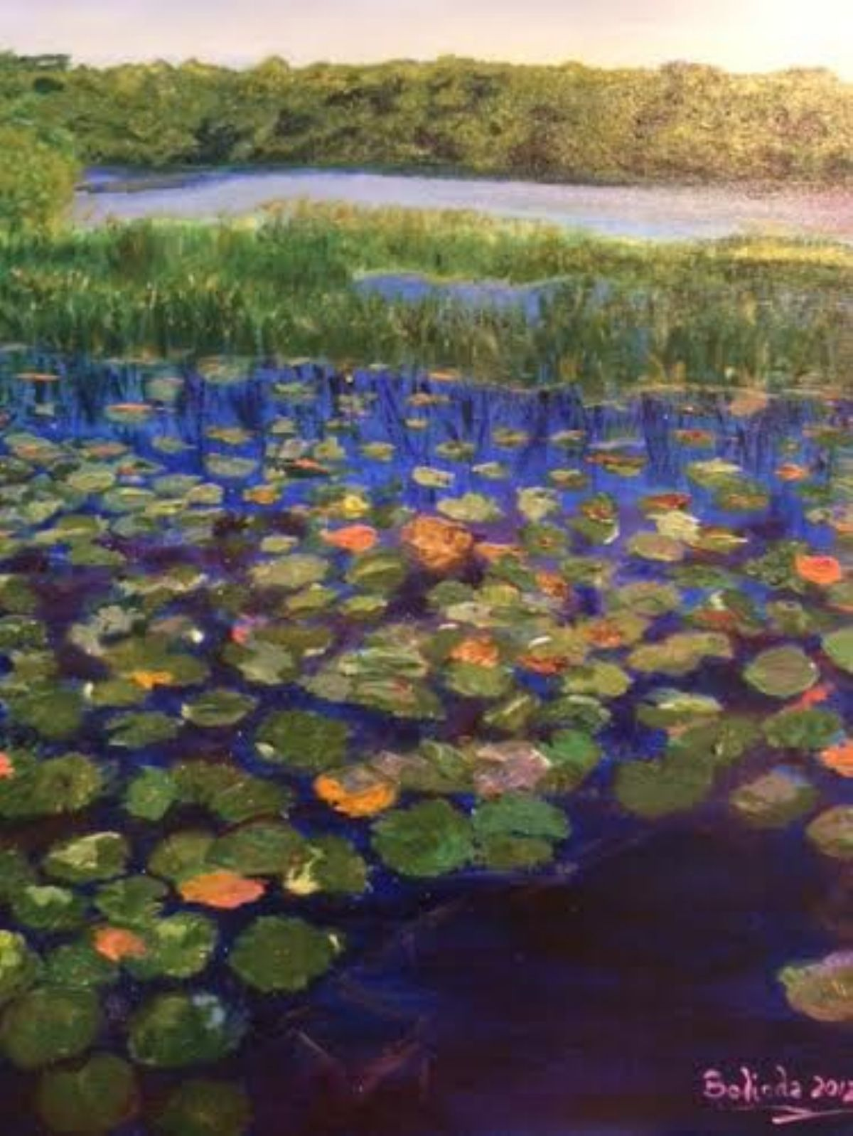 Serenity artwork by Belinda Low - art listed for sale on Artplode