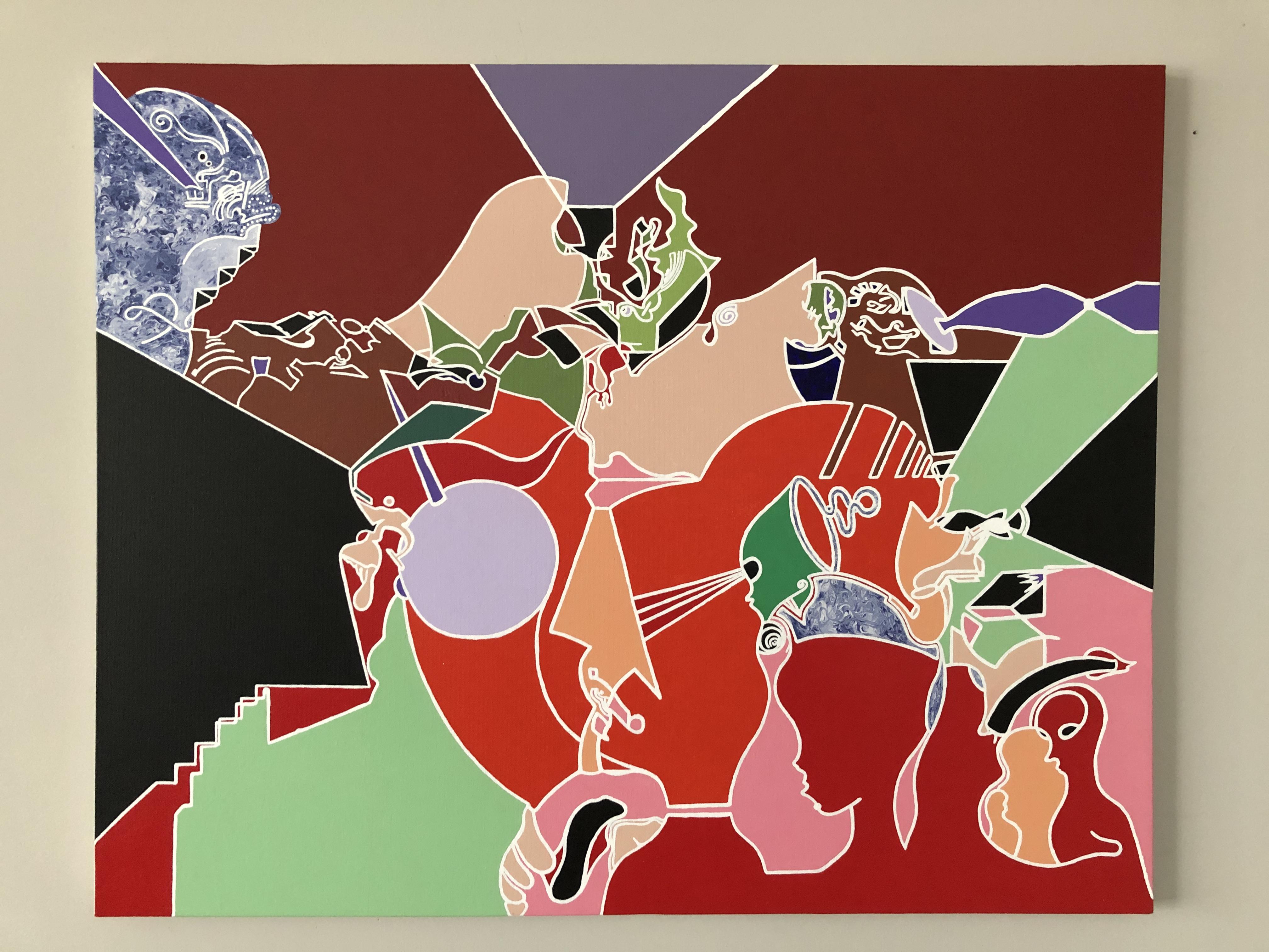 Transitonal artwork by Xavier Davis - art listed for sale on Artplode