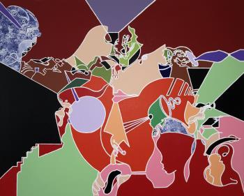 Transitonal artwork by Xavier Davis