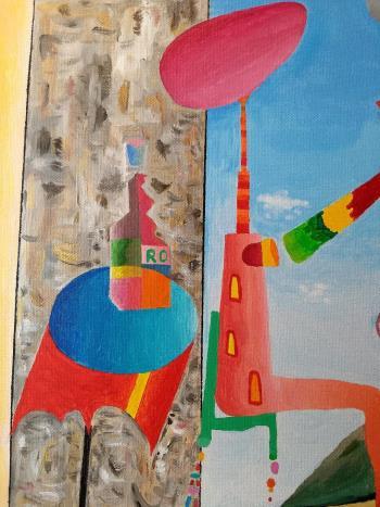 Runaway Daydream artwork by Gene Erny - art listed for sale on Artplode