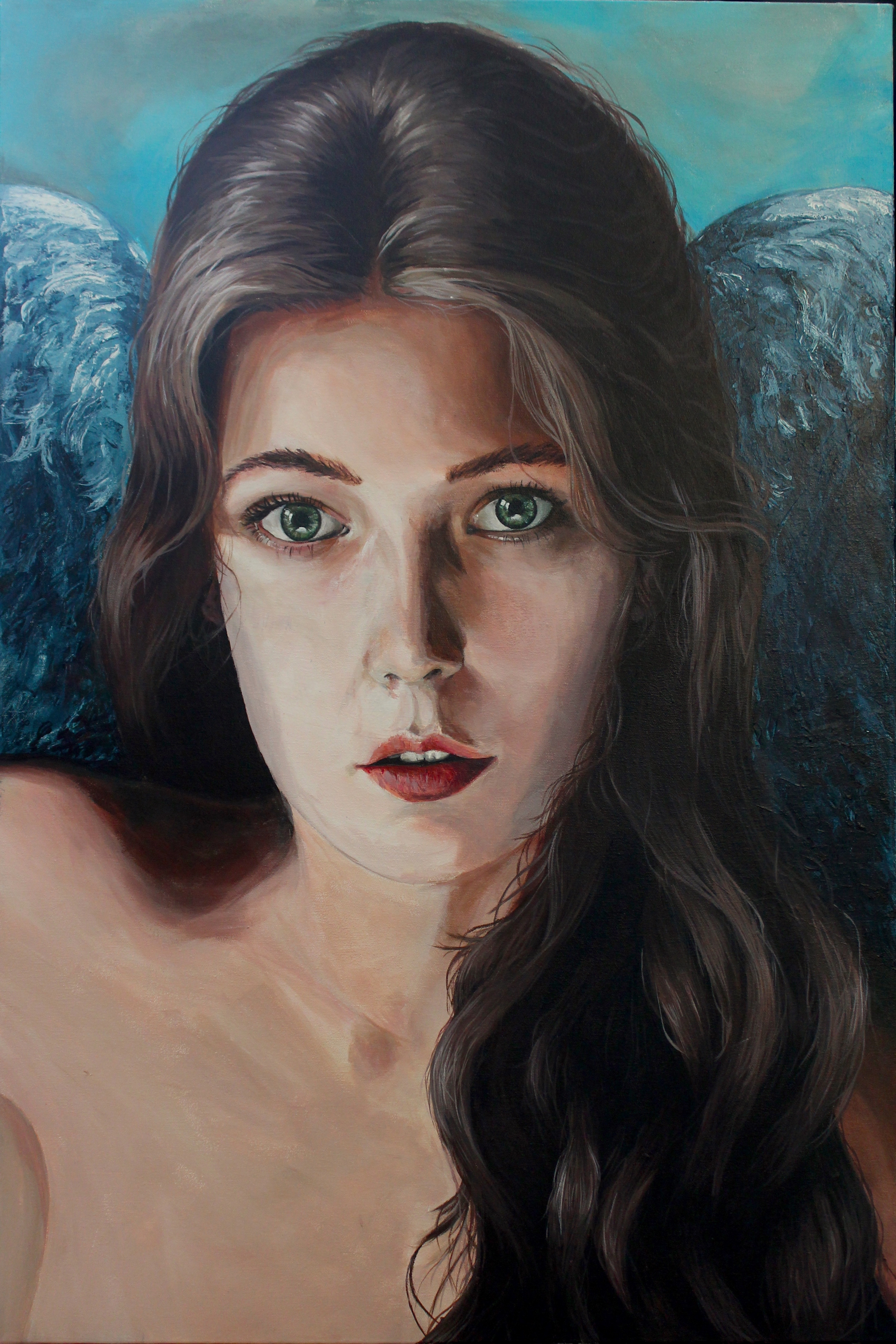 Angel 2 artwork by Matthew Day - art listed for sale on Artplode