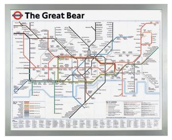 The Great Bear artwork by Simon Patterson - art listed for sale on Artplode