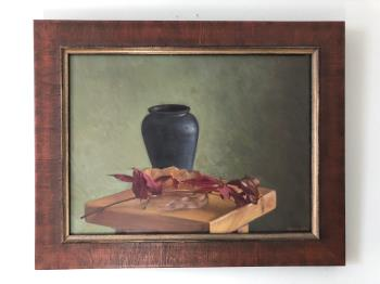 Table with Vase, art for sale online by Mark Balma