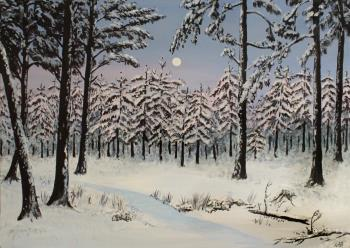 Evig Vinter, art for sale online by  Derkestai