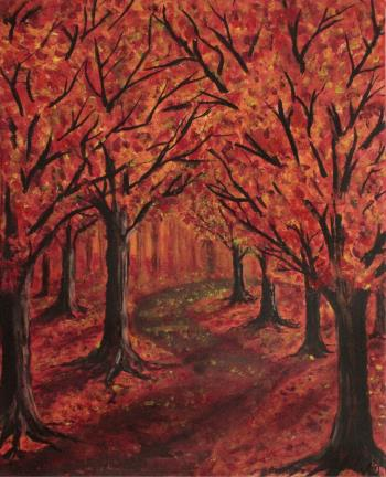 Autumn Impressions, art for sale online by  Derkestai