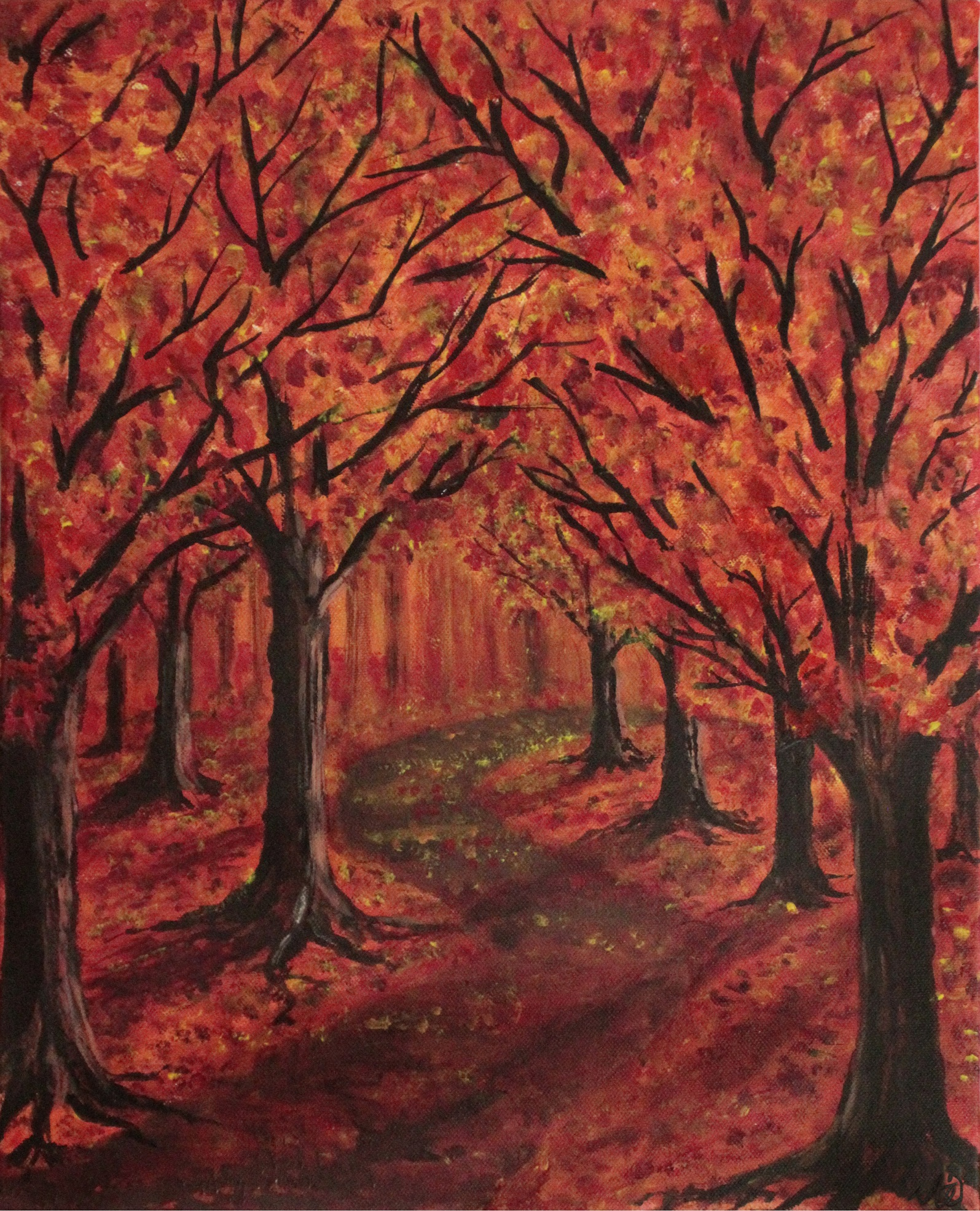 Autumn Impressions artwork by  Derkestai - art listed for sale on Artplode