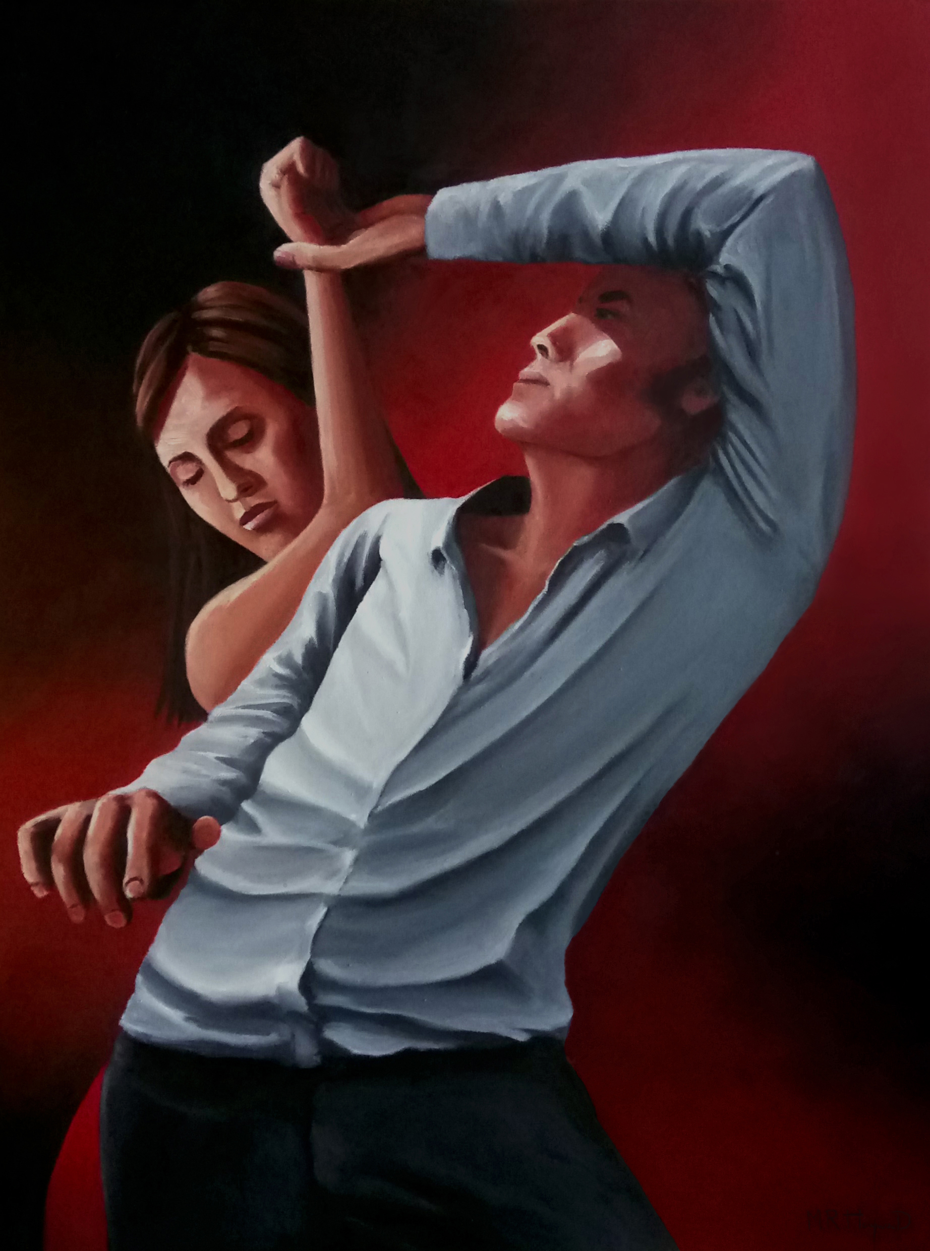 Rhythm artwork by Mark Robert Haywood - art listed for sale on Artplode
