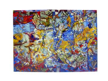 Structure at Random artwork by David Brundage - art listed for sale on Artplode