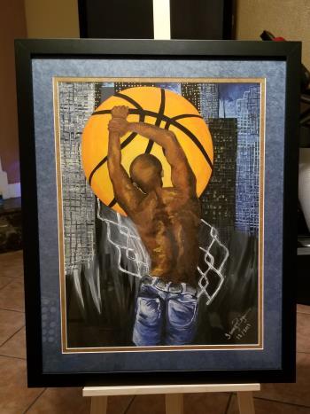 Night Baller artwork by Tammy Bijou