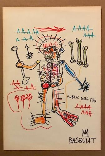 Untitled, art for sale online by Jean Michel Basquiat
