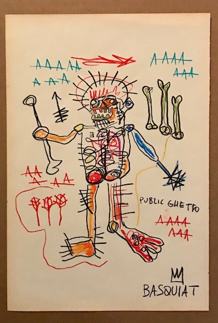 Untitled artwork by Jean Michel Basquiat - art listed for sale on Artplode
