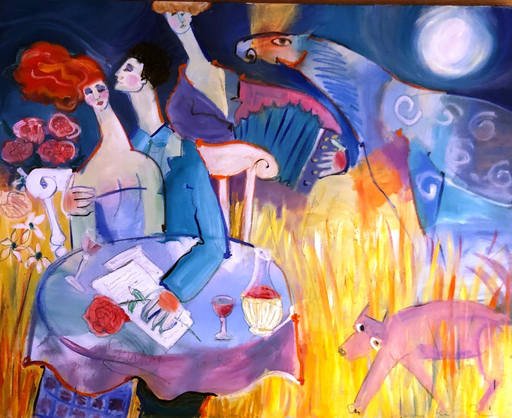 Untitled artwork by Kathy Donahey - art listed for sale on Artplode