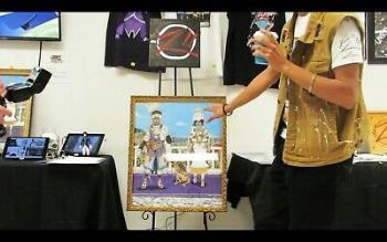 Le Royals artwork by Tyrone Motley