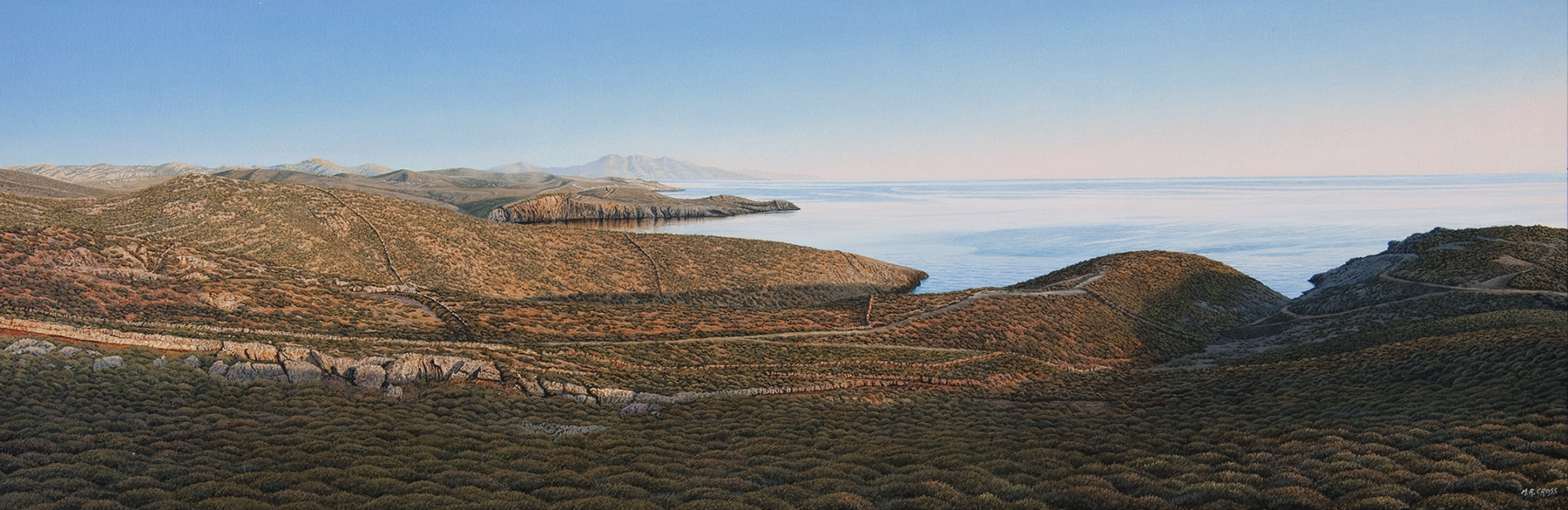 The Mykonian artwork by Mark Cross - art listed for sale on Artplode