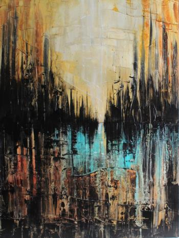 Dark City , art for sale online by Lisa