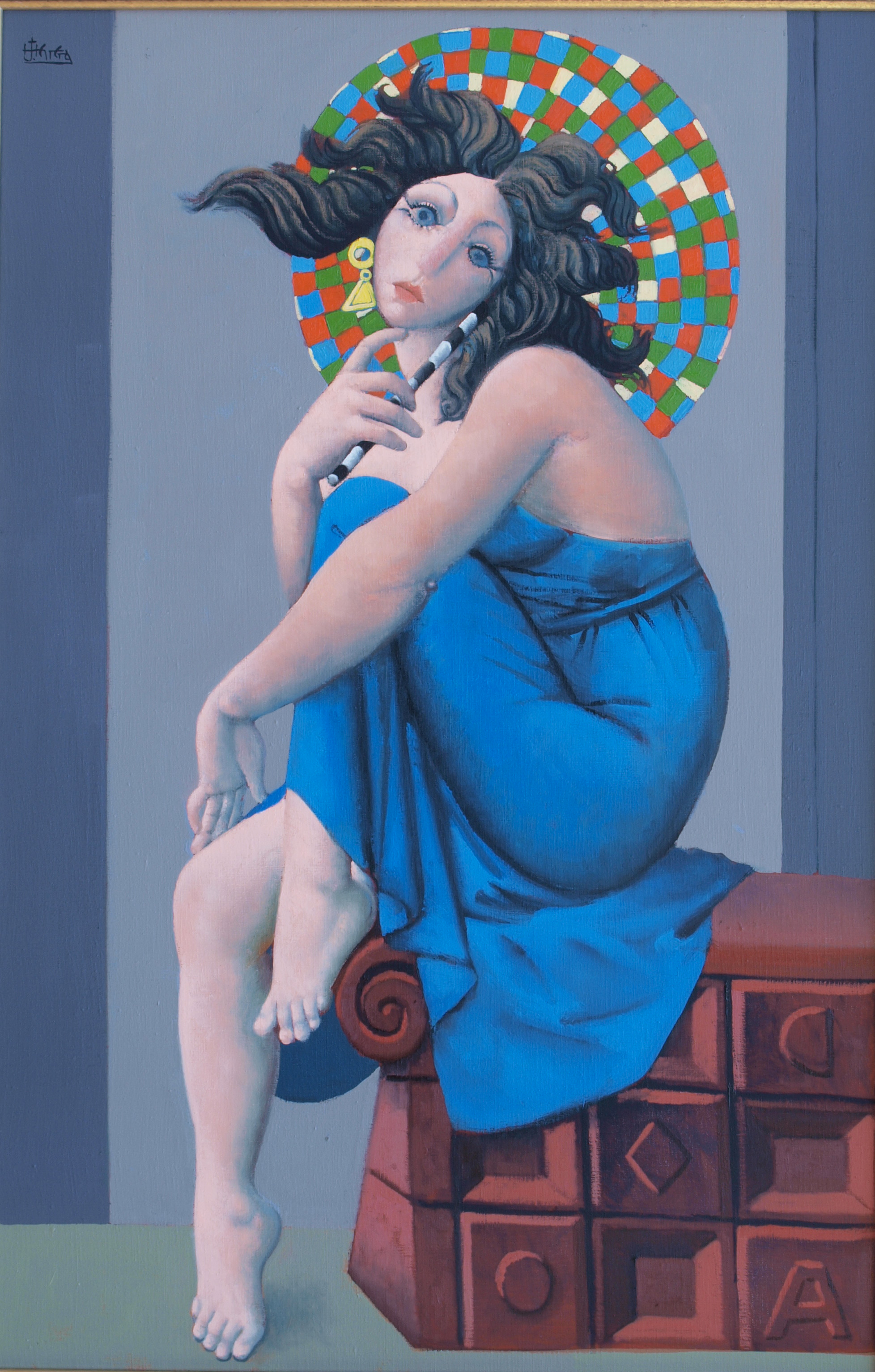 Retour aux Sources artwork by Jose Herrera - art listed for sale on Artplode