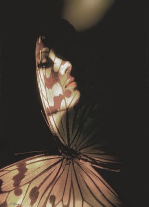 Madam Butterfly, art for sale online by John Neville Cohen