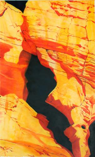 Valley of Fire 5, art for sale online by William Martin