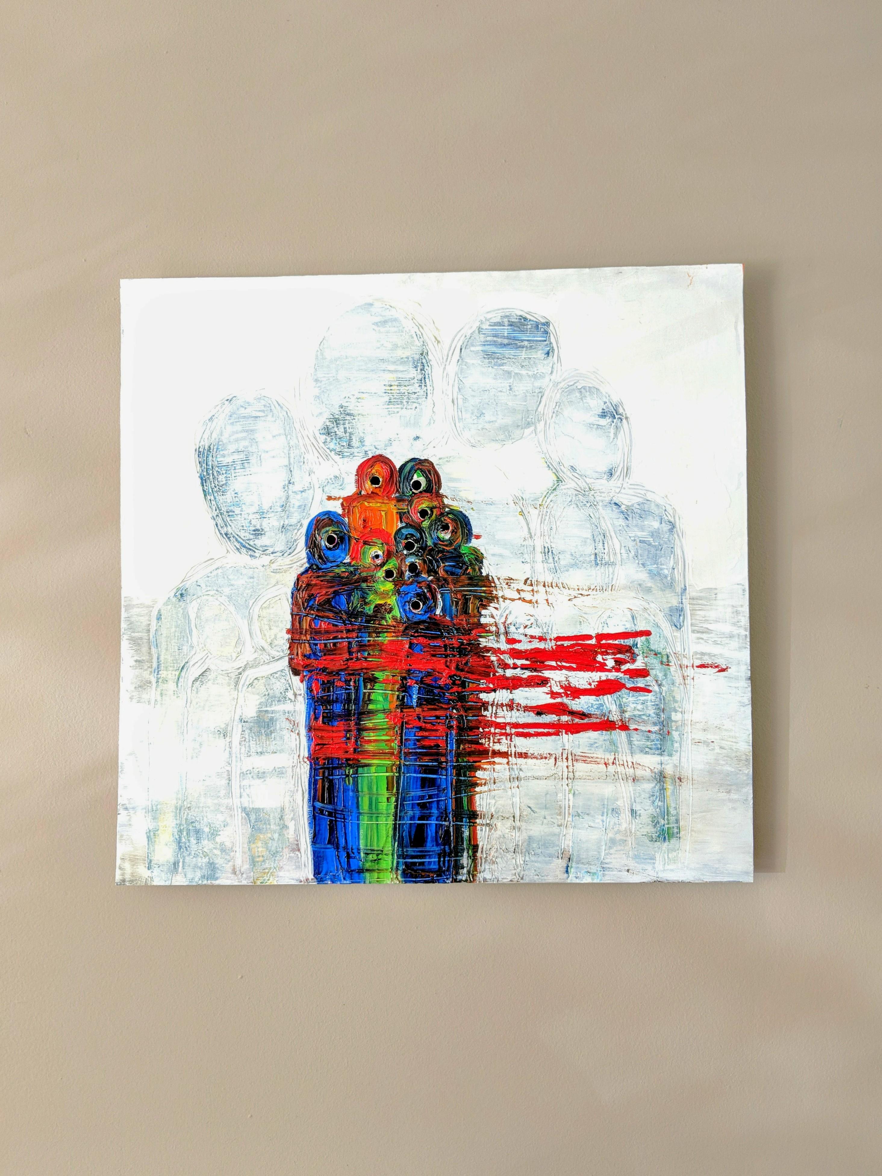 Untitled artwork by Noura Ali Ramahi - art listed for sale on Artplode