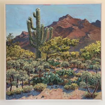 Catalina Mountains Tuscon , art for sale online by Lucy Culliton