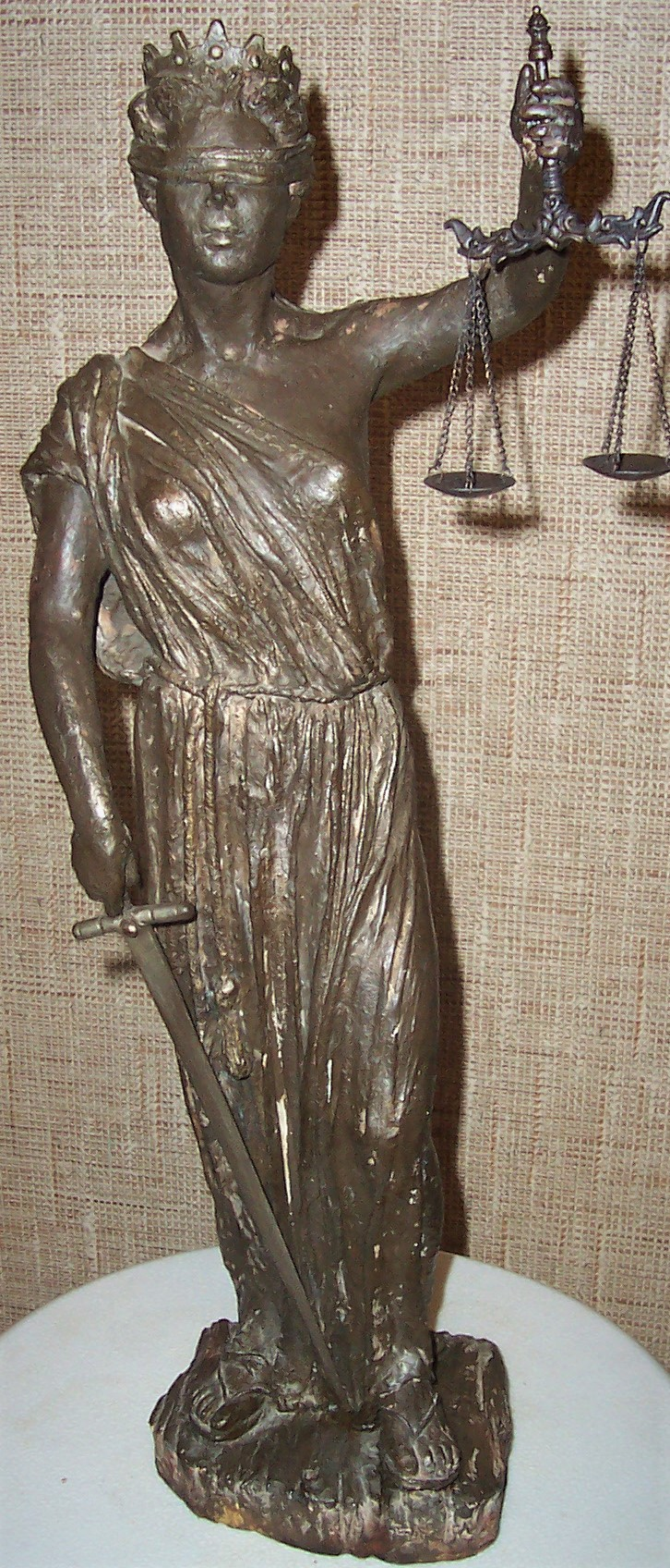 Lady Justice artwork by Margaret Rey - art listed for sale on Artplode