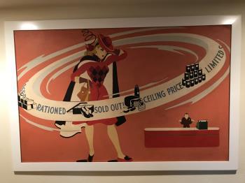WW II Rationing artwork by Helen Johnson