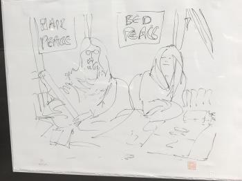 We Made Our Bed, art for sale online by John Lennon