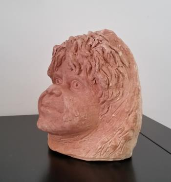 Head of a Child  artwork by William Ricketts