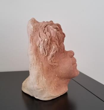 Head of a Child  artwork by William Ricketts - art listed for sale on Artplode