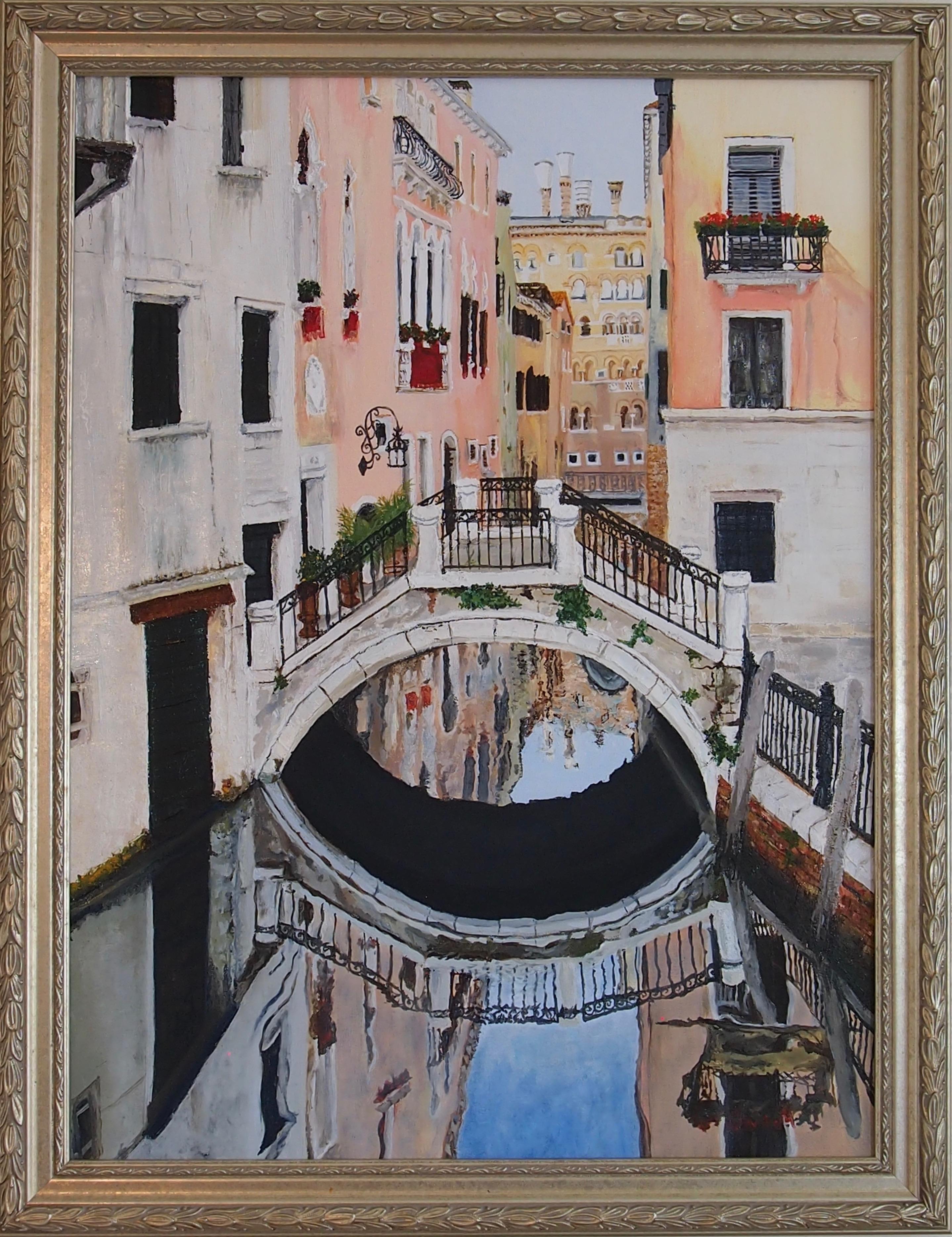 City of Love artwork by Janet Cherry - art listed for sale on Artplode