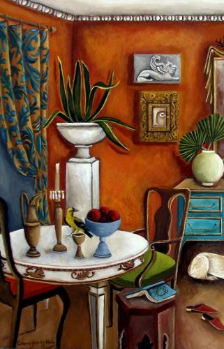 The Landlords Daughter  artwork by Catherine DeQuattro Nolin