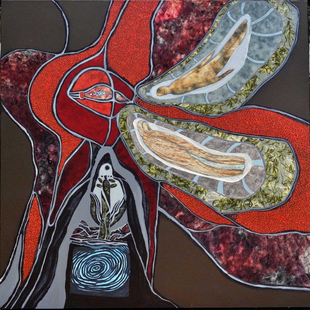 The Lake of Life artwork by Nelly Gocheva - art listed for sale on Artplode