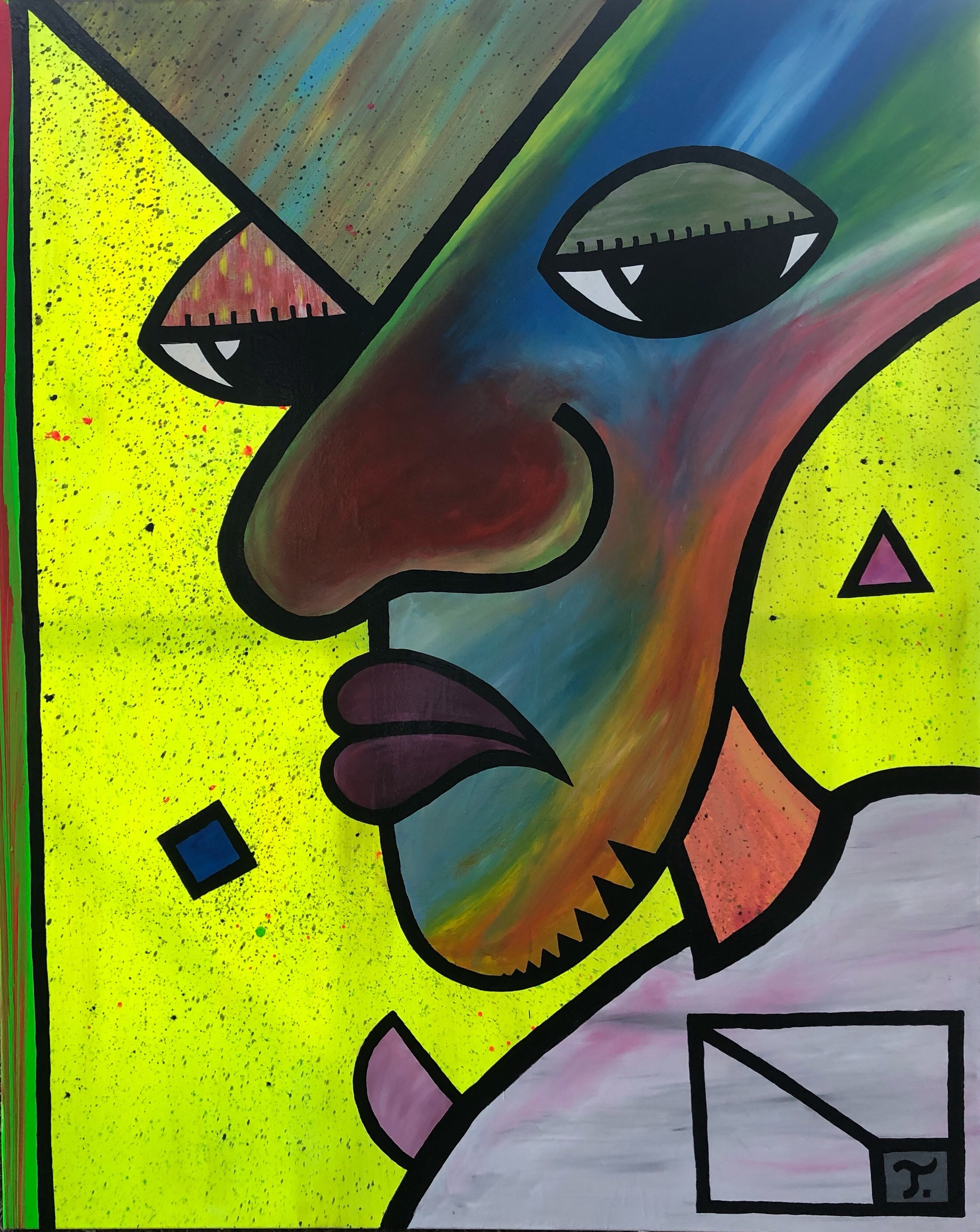 Watching artwork by Juan Antonio Torres - art listed for sale on Artplode