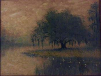 Louisiana Landscape, art for sale online by Alexander Drysdale