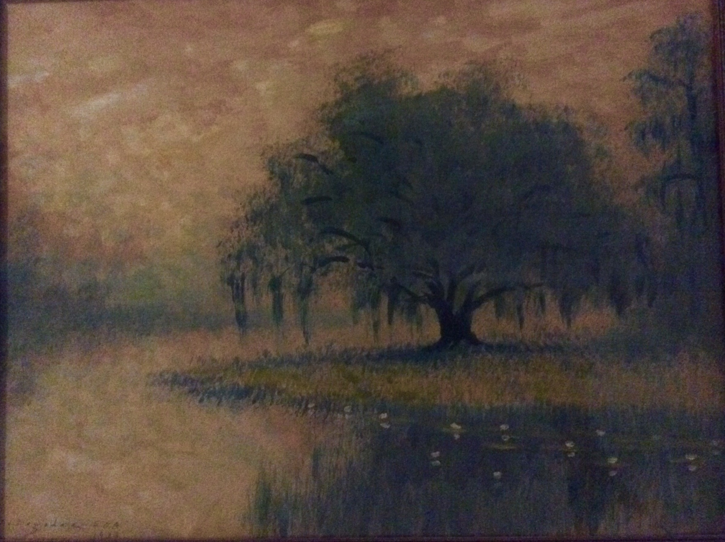 Louisiana Landscape artwork by Alexander Drysdale - art listed for sale on Artplode