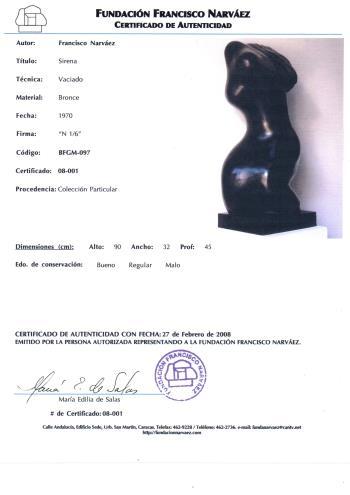 Sirena artwork by Francisco Narvaez - art listed for sale on Artplode